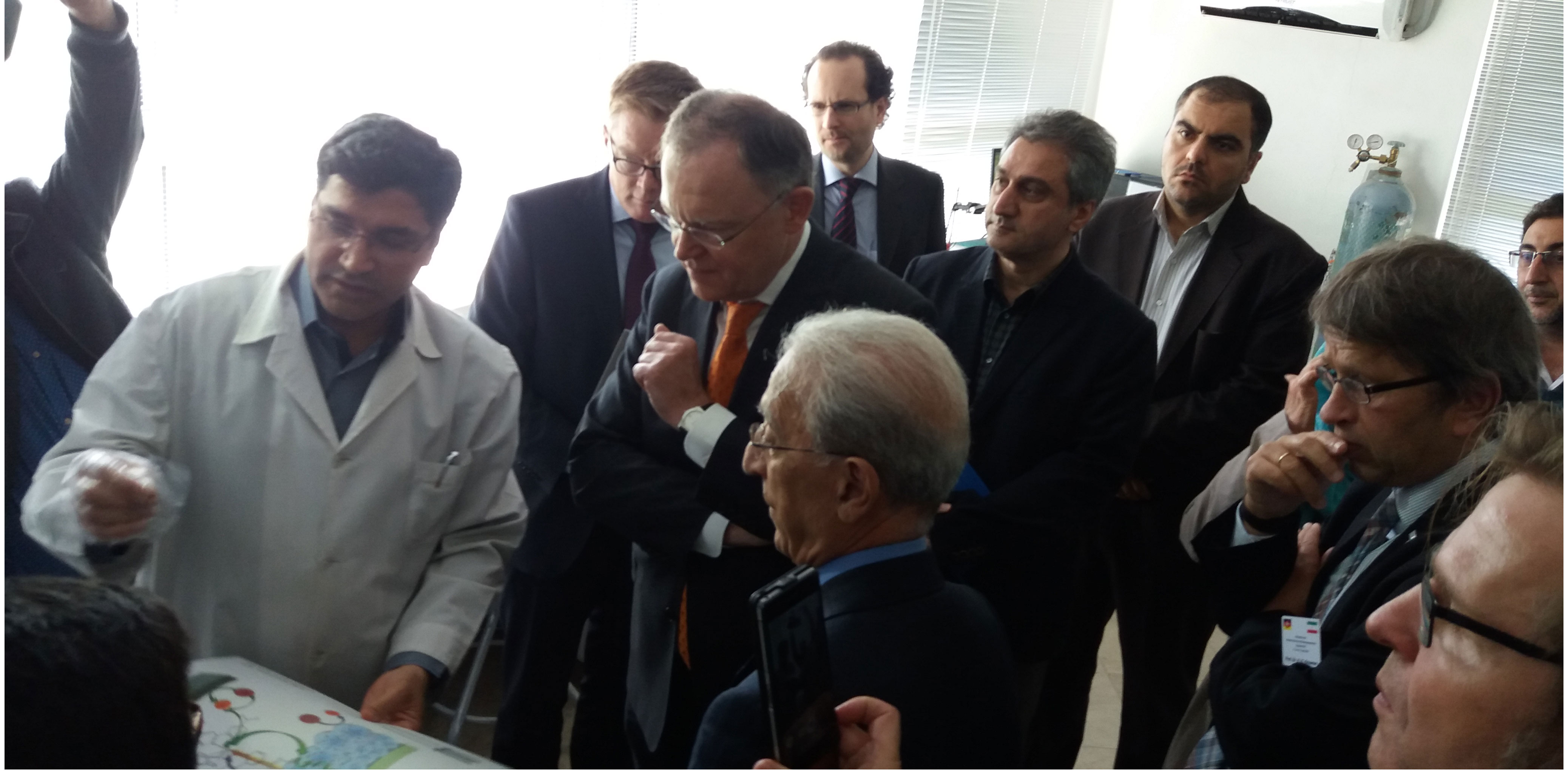 Visiting the Department by the German Prime Minister
